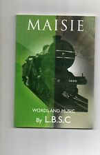 "LIVESTEAM LOCOMOTIVE By L.B.S.C 3.5"" ""ATLANTIC-MASSIE"" book ""Words&Music"" NEW CO"
