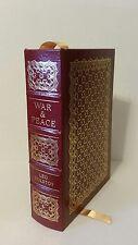 "War & Peace by Leo Tolstoy -Eaton Press ""100 Greatest Books Ever Written"""