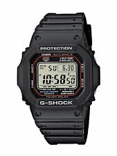 CASIO  G-SHOCK GW-M5610-1ER WAVECEPTOR SOLAR WATCHPESCARA CONCES. UFFICIALE