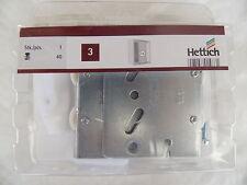 Hettich Schiebetürbeschlag TopLine 25 Montagesatz für eine Tür Innenliegend