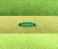 Javis Rough Grass Hill Cover Landscape Mat OO N Gauge Model Railway / Wargames