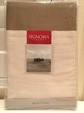 Signoria Firenze Luxury Italy King Poltrona 3 Panel Bedskirt 100% Cotton New