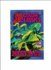 3-D COLOR CLASSICS #1-5  [1995]   GREAT READS & GREAT FUN!   4 PAIRS OF GLASSES!