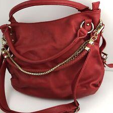 Imoshion handbags, Red Large Tote/overnight bag-Big 12X16!! Removable straps