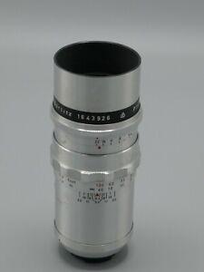 Meyer-Optic 135mm f/3.5 Primotar lens in Exakta Mount. EX+
