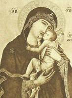 Notre Dame de Grace Cambrai Vintage French Holy Prayer Card 1930s