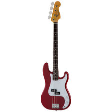 New Fender Made in Japan Traditional 60s Precision Bass Torino Red Guitar