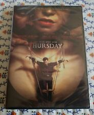 "The Man Who Was Thursday (DVD, 2018) Francois Arnaud Ana Ularu  ""NEW"""