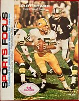 Vintage 1968 Green Bay Packers Sports Focus yearbook Ex-NRMT Bart Starr