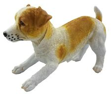 Jack Russel Dog Ornament Statue Figurine Puppy Garden Sculpture Gift *26 cm*