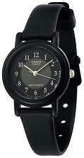 Casio LQ139A-1B3, Classic Black Analog Watch, Black Resin Band