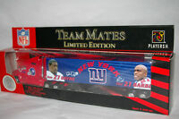 NW NEW YORK GIANTS Ron Dyne & Tiki Barber  MATES Die cast Truck Trailer
