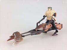 Star Wars Potf - Loose Speeder Bike - Power Of The Force  Luke Skywalker