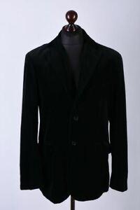 Polo by Ralph Lauren Men's Black Velour / Velvet Blazer Jacket Size M / UK38