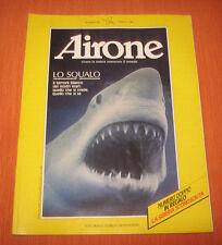 """Libri/Riviste/Giornali """" AIRONE N° 95 MARZO 1989 """" Lo Squalo"""