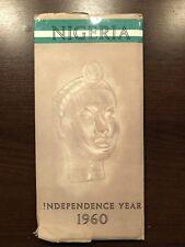 MAP - NIGERIA INDEPENDENCE YEAR 1960 - UK POST £3.25
