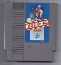 Vintage Nintendo ICE HOCKEY Video Game NES Cartriage VHTF Rare