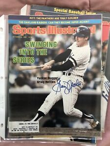 Graig Nettles Signed Auto Sports Illustrated 10/26/1984