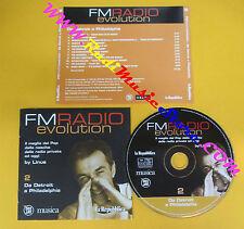 CD Compilation FMRADIO Evolution Da Detroit A Philadelphia PROMO no lp mc(C41)