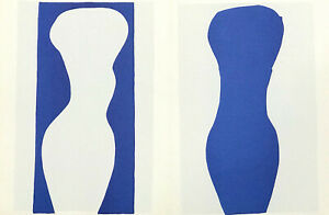 """Henri Matisse lithograph from Jazz """"Forms"""""""