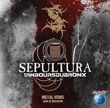 Sepultura - Metal Veins: Alive at Rock in Rio NEW SEALED CD ALBUM 5036369756321
