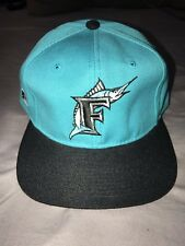Vintage Mlb Florida Marlins Sports Specialties Fitted Hat Size 7 5 8 8c47736dc9c0