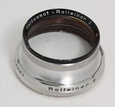Rolleinar 2 Bay III Closeup Kit - Rolleiflex f/2.8 Planar/Xenotar