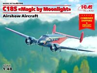 """ICM 48186 - 1/48 C18S """"Magic by Moonlight"""" American Airshow Aircraft scale model"""