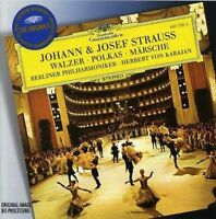 J. STRAUSS Waltzes, Polkas & Marches CD - New - Deutsche Grammophon