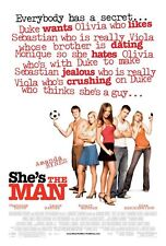 SHE'S THE MAN (2006) ORIGINAL MOVIE POSTER  -  ROLLED