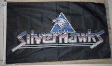 SilverHawks 3'x5' Black Flag Banner Thundercats USA Seller Shipper
