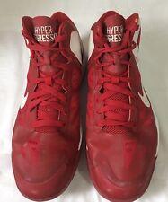 Men's Nike Air Max Hyper Aggressor Red Shoes Size 11  #524871-500 EUC