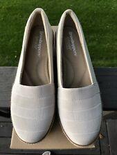 Women's Grasshopper Cleo Ortholite Wedge Comfort Shoe Size 8.5 M $50 NEW