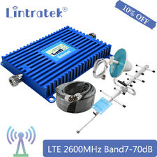 Lintratek 4G LTE 2600MHz Band 7 Handy Signal Booster Repeater Antennenanzug 70dB