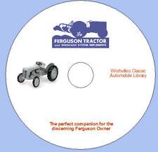 Ferguson Tractor Companion dvd rom