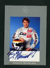 Bernd Schneidet DTM 1995, Autogramm  - Rennfahrer   (KA-27)