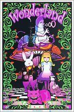 Wonderland Ii Blacklight Poster 23 x 35