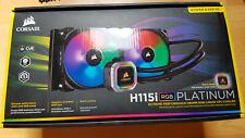 Corsair H115i RGB PLATINUM 280-mm-CPU-Flüssigkeitskühler