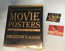 "BINDER SALE: ALBUM FOR MOVIE POSTERS 2007 ""STARS"" Cards (Breygent) + 2 PROMOS"