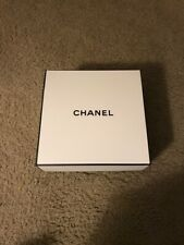"""10 X Chanel Signature Empty White Gift Box Authentic New 8.5� By 8.5� By 3.75"""""""