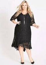(107) AUTOGRAPH BLACK LACE DRESS SZ 22 BRAND NEW WITH TAGS - STUNNING!! RRP$129