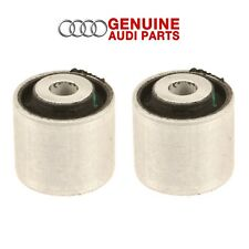 Pair Set of 2 Front Outer Control Arm Bushings Straight Lower Genuine for Audi