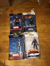 Marvel Legends Lot - Thunder strike Captain America Jocasta Ghost Spider