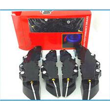 4Pcs Black Disc Brake Pro 3D Cars Parts Caliper Covers Front Rear Car Set Kit