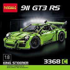 """tipo TECHNIC POR SCHE CARRERA 911 GT3 RS GREEN """"lego Compatibile """" 42056 3368"""