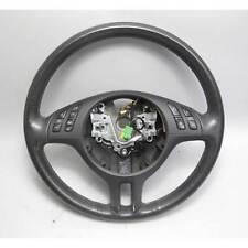 BMW E46 3-Series Factory Sports Steering Wheel w Multifunction 2000-2006 OEM
