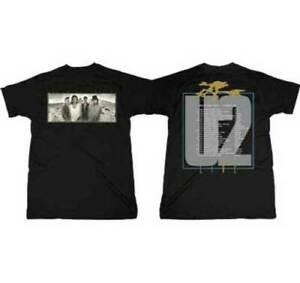 U2 JOSHUA TREE ALBUM 1987 TOUR EUROPE MUSIC DUBLIN ROCK BAND PUNK T SHIRT S-2XL