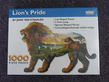 NEW & Sealed - Spilsbury LION'S PRIDE Figural Puzzle, 1000 piece #6697
