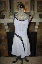 Nike RARE Maria Sharapova Purple Lavender Black Sphere Tennis Dress M 8 10