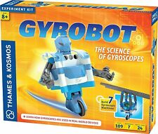 Thames and Kosmos 620301 Gyrobot - Gyroscopic 7 Model Robot Kit